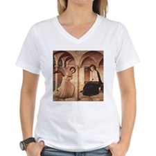 Annunciation (by Fra Angelico) T-Shirt