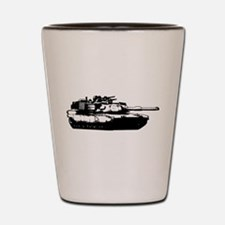 M1 Abrams Shot Glass