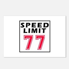 Speed Limit 77 Postcards (Package of 8)