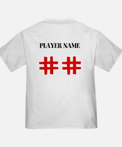 Personalized Front and Back Love Baseball T