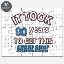 Took 90 years to look this fabulous Puzzle