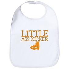 Little ass kicker cute boot baby design Bib