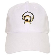 Yellow Labradoodle Face Baseball Cap