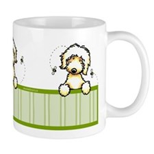 Bee Nice Peeking Labradoodle Small Mug