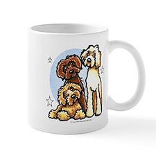 3 Labradoodle Dog Night Mug