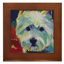 Cairn Terrier - Buddy Framed Tile