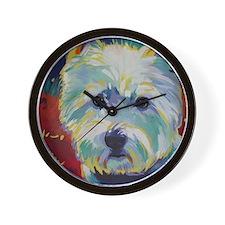 Cairn Terrier - Buddy Wall Clock