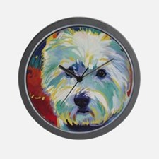 Cairn Terrier - Buddy Wall Clock