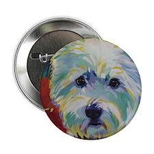 """Cairn Terrier - Buddy 2.25"""" Button"""