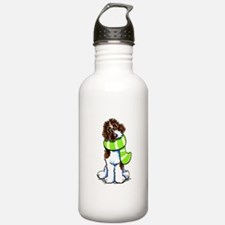Labradoodle Scarf Water Bottle