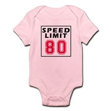 Speed Limit 80 Infant Bodysuit