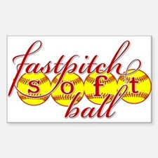 fastpitch softball original fashion Decal
