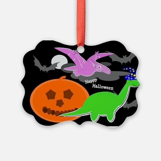 Cute Halloween Dinosaurs Ornament