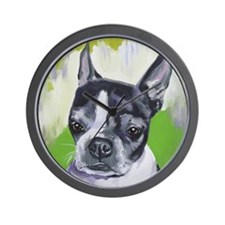 Boston Terrier - Sophie Wall Clock