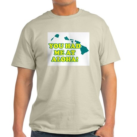 HAWAII T-SHIRT, HAWAII SHIRT Ash Grey T-Shirt