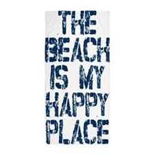 Beach Happy Place Beach Towel