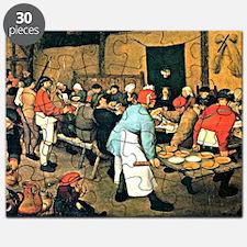 Bruegel - Peasant Wedding, 1568 Puzzle