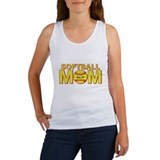 Softball mom Women's Tank Tops