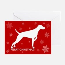 Christmas Card (pk10) - Merry Christmas Red