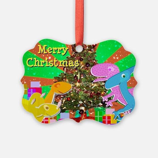 Cute Dinosaurs Christmas Tree Ornament