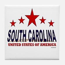 South Carolina U.S.A. Tile Coaster