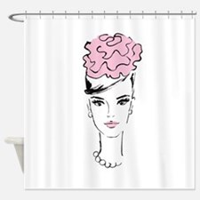 Romantic In Pink Shower Curtain