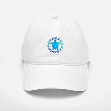 Ocean Blue Turtle Sun Baseball Baseball Baseball Cap