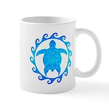 Ocean Blue Turtle Sun Mugs
