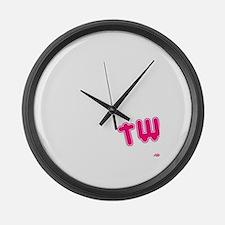 Twerking Large Wall Clock