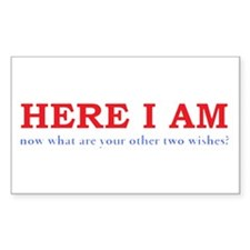Here I Am! Decal