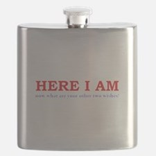 Here I Am! Flask