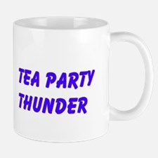 Tea Party Thunder Mugs