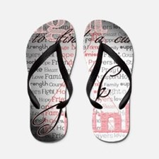 Fight For a Cure Flip Flops