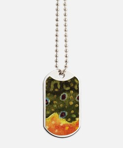 Trout Fly Fishing Dog Tags
