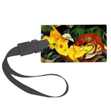 Franz Marc: Cows-Yellow, Red, Gr Luggage Tag