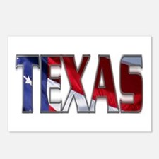 Patriotic Texas Postcards (Package of 8)