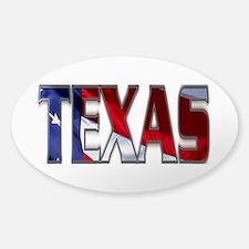 Patriotic Texas Decal
