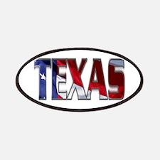 Patriotic Texas Patches