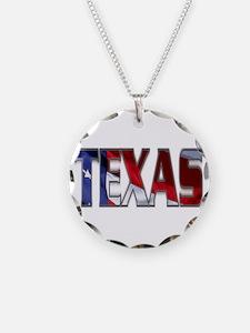 Patriotic Texas Necklace