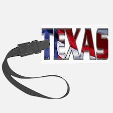 Patriotic Texas Luggage Tag