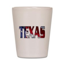 Patriotic Texas Shot Glass