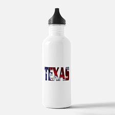 Patriotic Texas Water Bottle
