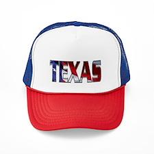 Patriotic Texas Trucker Hat
