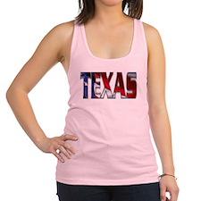 Patriotic Texas Racerback Tank Top