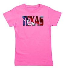 Patriotic Texas Girl's Tee