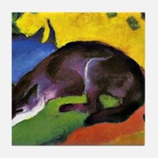 Franz Marc: Blue Fox Tile Coaster