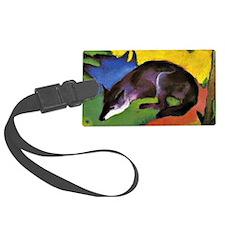 Franz Marc: Blue Fox Luggage Tag
