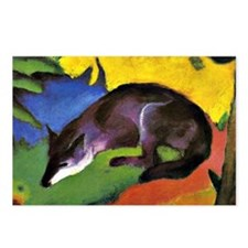 Franz Marc: Blue Fox Postcards (Package of 8)