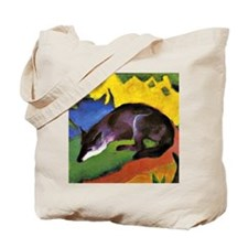 Franz Marc: Blue Fox Tote Bag