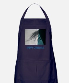 HAPPY CHANUKAH, ME. Apron (dark)